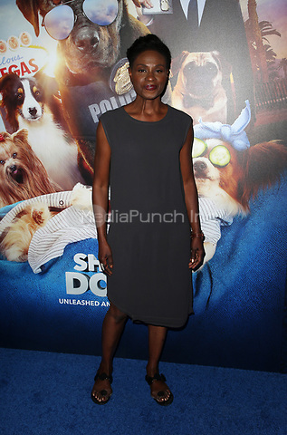 HOLLYWOOD, CA - MAY 5: Adina Porter, at the Show Dogs film premiere at the TCL Chinese Theatre in Hollywood, California on May 5, 2018. Credit: Faye Sadou/MediaPunch