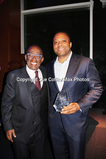 Al Roker & Craig Livilngston - Figure Skating in Harlem presents Champions in Life Benefit Gala on April 29, 2019 at Chelsea Pier, New York City, New York - (Photo by Sue Coflin/Max Photos)