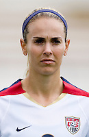 Heather Mitts. The USWNT defeated Denmark, 2-0, in Lagos, Portugal during the Algarve Cup.