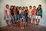 Just like Martina, these young women also hope to open their own businesses once they finish their training.