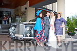 WEDDING SHOWCASE: Models at the Carlton Hotel, Tralee, wedding showcase on Sunday, l-r: Margaret Stritch, Sean Reidy, Danny Xu and Narlyn Kavanagh.