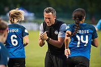 Kansas City, MO - Saturday July 22, 2017: Matt Briggs during a regular season National Women's Soccer League (NWSL) match between FC Kansas City and the North Carolina Courage at Children's Mercy Victory Field.