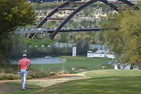 Rafael Cabrera Bello (ESP) departs the 12th tee with the Loop 360 bridge in the background during day 2 of the World Golf Championships, Dell Match Play, Austin Country Club, Austin, Texas. 3/22/2018.<br /> Picture: Golffile | Ken Murray<br /> <br /> <br /> All photo usage must carry mandatory copyright credit (&copy; Golffile | Ken Murray)