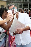 "14 February - Pasadena, California - Simon Cowell. NBC's ""America's Got Talent"" Season 11 Kickoff  held Pasadena Civic Auditorium. Photo Credit: Sammi/AdMedia"
