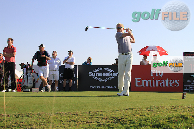 during the Emirates Airline Invitational 2012 hosted by Abdullah Al Naboodah at the Yas Links, Yas Island, Abu Dhabi, UAE..Picture Fran Caffrey www.golffile.ie