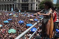 RIO DE JANEIRO, RJ, 05.03.2019: CARNAVAl-RIO - Bloco de carnaval Fervo da Lud desfila na rua Primeiro de Março no centro da cidade do Rio de Janeiro, na manhã desta terça (05). (Foto: Celso Barbosa/Código19)