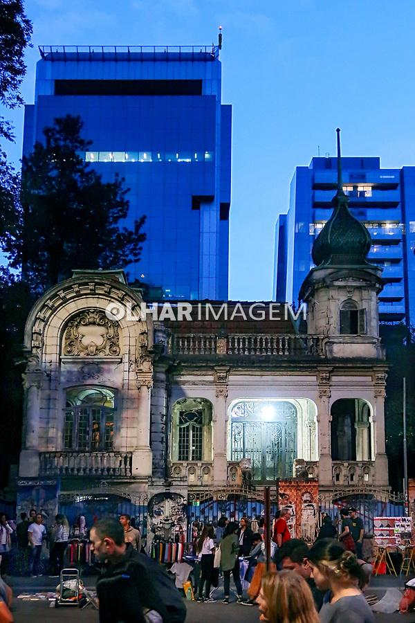 Antigo palacete, Avenida Paulista, Sao Paulo. 2019. Foto Juca Martins.
