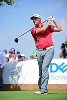 Jon Rahm (ESP) watches his tee shot on 3 during round 7 of the World Golf Championships, Dell Technologies Match Play, Austin Country Club, Austin, Texas, USA. 3/26/2017.<br /> Picture: Golffile | Ken Murray<br /> <br /> <br /> All photo usage must carry mandatory copyright credit (&copy; Golffile | Ken Murray)