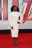 "Andi Osho<br /> at the ""Shazam!"" Premiere, TCL Chinese Theater, Hollywood, CA 03-28-19<br /> David Edwards/DailyCeleb.com 818-249-4998"