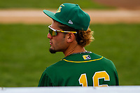 Beloit Snappers outfielder Luis Barrera (16) during a Midwest League game against the Peoria Chiefs on April 15, 2017 at Pohlman Field in Beloit, Wisconsin.  Beloit defeated Peoria 12-0. (Brad Krause/Four Seam Images)