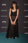 LOS ANGELES, CA - NOVEMBER 07: Actress Mia Maestro attends LACMA 2015 Art+Film Gala Honoring James Turrell and Alejandro G Iñárritu, Presented by Gucci at LACMA on November 7, 2015 in Los Angeles, California.