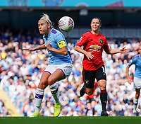 20190907 – MANCHESTER, ENGLAND: Manchester City's Steph Houghton is pictured during the match between Manchester City Women and Manchester United Women, first game for both of the teams in the Barclays FA Women's Super League , Saturday  7th September 2019 at the Ethiad Stadium, Manchester. PHOTO SPORTPIX.BE | Sevil Oktem