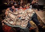 3.27.15 - 3 Amigos and a Quilt....