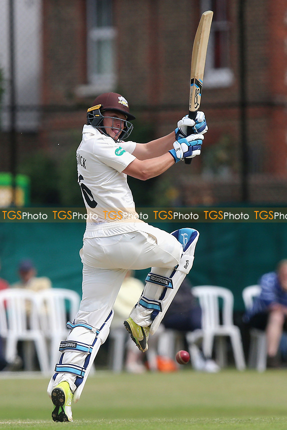Scott Borthwick in batting action for Surrey during Surrey CCC vs Essex CCC, Specsavers County Championship Division 1 Cricket at Guildford CC, The Sports Ground on 11th June 2017
