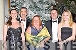Dancing the night away at the New Years Eve ball in the Malton Hotel Killarney on Friday night was l-r: Sorcha, Neil, Carmel, Shane and Patricia Moynihan..