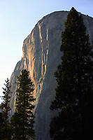 "Pictured: El Capitan at Yosemite National Park.<br /> Re: A British climber was killed and his wife seriously injured living their ""big dream"" on one of the toughest rock faces in the world.<br /> Andrew Foster, 32, and his wife Lucy, 28, were buried under tons of falling rock as they prepared for their climb.<br /> Experienced climber Andrew was killed but Lucy was rescued and airlifted to hospital where she was in a ""critical"" condition.<br /> The couple were married a year ago and the three-week trip to the Yosemite National Park in California was part of their first wedding anniversary celebrations.<br /> They had ben training for the expedition for six months and flew off to the States on September 11 along with other members of their climbing club.<br /> Andrew and Lucy, from Cardiff, were scouting out a descent of the iconic rockface El Capitan when a ""sheet"" of granite fell on them.<br /> Rangers on the national park beauty spot said a piece of granite 40 metres by 20 metres fell from a height of 200 metres while the couple were below.<br /> Patagonia, a company owned by Andrew Foster has confirmed the incident."