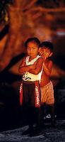 """ExpediÁ""""o para criaÁ""""o da Ti no alto e mÈdio rio Negro entre os municÌpios de S""""o Gabriel e Santa Izabel.Amazonas, BrasilFoto Paulo Santos1997"""