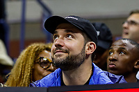Alexis Ohanian, husband of Serena Williams of the United States watches her play against Elina Svitolina of Ukraine at Arthur Ashe Stadium at the USTA Billie Jean King National Tennis Center on September 05, 2019 in New York City.<br /> CAP/EL<br /> ©Elena Leoni/Capital Pictures