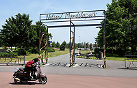 Nederland -  Amsterdam - juni 2019. Het Nelson Mandelapark.   Foto Berlinda van Dam / Hollandse Hoogte