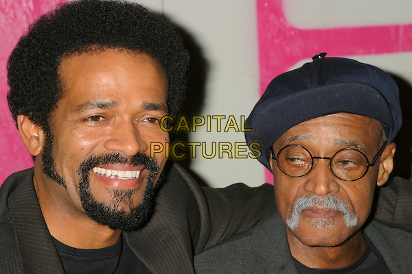 MARIO & MELVIN VAN PEEBLES .The 14th Annual Gotham Awards, Pier 60, Chelsea Piers, New York City, New York, USA.01December 2004..portrait headshot.Ref: IW.www.capitalpictures.com.sales@capitalpictures.com.©Capital Pictures.