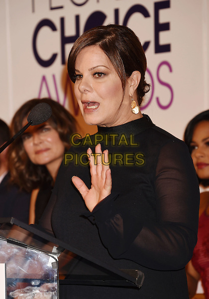 BEVERLY HILLS, CA - NOVEMBER 03: Actress Marcia Gay Harden attends the People's Choice Awards 2016 - Nominations Press Conference at The Paley Center for Media on November 3, 2015 in Beverly Hills, California.<br /> CAP/ROT/TM<br /> &copy;TM/ROT/Capital Pictures