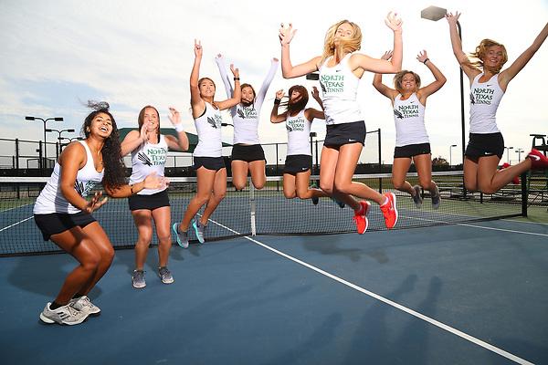 DENTON, NOVEMBER 7: University of North Texas Mean Green Tennis at Waranch Tennis Center in Denton, Texas on November 7, 2017. (Photo Rick Yeatts)