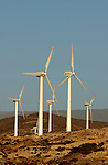 Wind turbines, Poris de Abona, Tenerife, Canary Islands, Spain