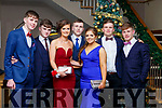 Attending the CBS Debs at the Ballroom Heights Hotel on Friday night last. Front l-r, Darragh O'Donoghue (Crotta), Sean Donnell (Churchhill), Conagh Fitzgerald (Ardfert), Ronan Fitzgerald (Spa), Eimear Ellard (Spa), George Downing (Kilflynn) and Sean Hamilton (Churchhill).