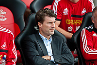 Sun 06 October 2013 Pictured: Michael Laudrup, Manager of Swansea City Re: Barclays Premier League Southampton FC  v Swansea City FC  at St.Mary's Stadium, Southampton