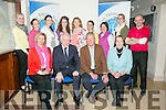 Ambassador of Hungary to Ireland visit to St Teresa NS Kilflynn as part of the Blue Flag Programmeon Friday. Pictured  Front  Judit Tóth, Ambassador wife, Jimmy Deenihan,  István S. Pálffy, Ambassador of Hungary and principal Mary Carroll Back l-r  Deirdre Laide, Catriona Farrelly, Laura Horgan, Ciara Walsh, Maria Cunningham, Tina O'Connell, Mary Brassil, Sinead Hogan and Michael Lane