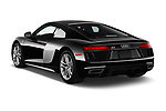 Car pictures of rear three quarter view of a 2017 Audi R8 base 2 Door Coupe angular rear