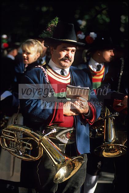 Europe/Autriche/Tyrol/Innsbruck: Festival de musique à vent du Tyrol