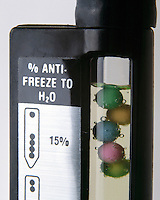 DISPLACEMENT TYPE HYDROMETER FOR ANTIFREEZE<br />