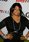 HOLLYWOOD, CA. - September 25: Raven-Symone arrives at the 7th Annual Teen Vogue Young Hollywood Party at Milk Studios on September 25, 2009 in Hollywood, California.