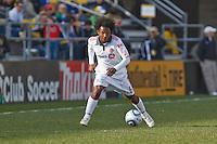 27 MARCH 2010:  Julian de Guzman of Toronto FC (6) during the Toronto FC at Columbus Crew MLS game in Columbus, Ohio on March 27, 2010.