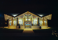 Surfside Restaurant, Wildwood,NJ. Night Exterior - 1969