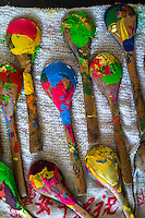 Wooden spoons used in an art workshop dry on a teacloth in the Nala Designs' TH.inc Academy in Bangsar, Kuala Lumpur, Malaysia, on 18 August 2015. Nala Designs, by founder and designer Lisette Scheers, is inspired by Malaysia's melting pot of Chinese, Malay and Indian cultures. Photo by Suzanne Lee for Monocle