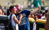 LISBOA, PORTUGAL, 01 JUNHO 2012 - ROCK IN RIO LISBOA - Publico durante o terceiro dia do Rock In Rio Lisboa que acontece na cidade do Rock em Lisboa capital de Portugal, nesta sexta-feira, 01. (FOTO: WILLIAM VOLCOV / BRAZIL PHOTO PRESS).
