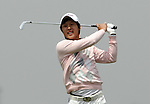 SUZHOU, CHINA - APRIL 17:  Son Joon-eob of Korea tees off on the 17th hole during the Round Three of the Volvo China Open on April 17, 2010 in Suzhou, China. Photo by Victor Fraile / The Power of Sport Images