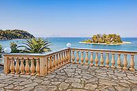 The famous mouse island at Corfu, Greece