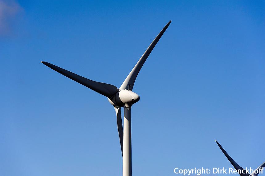 Windräder auf Fehmarn, Schleswig-Holstein, Deutschland
