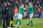 01.12.2018, Weser Stadion, Bremen, GER, 1.FBL, Werder Bremen vs FC Bayern Muenchen, <br /> <br /> DFL REGULATIONS PROHIBIT ANY USE OF PHOTOGRAPHS AS IMAGE SEQUENCES AND/OR QUASI-VIDEO.<br /> <br />  im Bild<br /> <br /> Auswechslung Johannes Eggestein (Werder Bremen #24) an Kevin M&ouml;hwald / Moehwald (Werder Bremen #06)<br /> <br /> Foto &copy; nordphoto / Kokenge