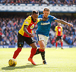 Mustapha Dumbuya and Martyn Waghorn