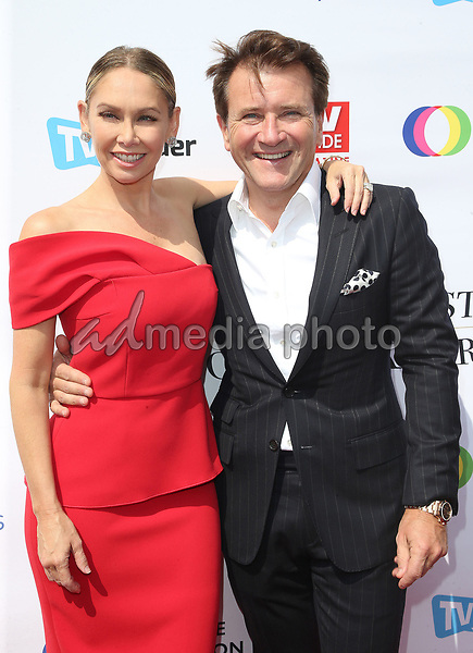 16 September 2017 - Hollywood, California - Kym Johnson, Robert Herjavec. Television Industry Advocacy Awards held at TAO Hollywood. Photo Credit: F. Sadou/AdMedia