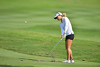 PATTAYA, THAILAND - FEBRUARY 22: Danielle Kang of USA 3rd shot onto the 18th green during the second round of the Honda LPGA Thailand 2019 at Siam Country Club Pattaya (Old Course), Pattaya, Thailand on February 22, 2019.<br /> .<br /> .<br /> .<br /> (Photo by: Naratip Golf Srisupab/SEALs Sports Images)<br /> .<br /> Any image use must include a mandatory credit line adjacent to the content which should read: Naratip Golf Srisupab/SEALs Sports Images