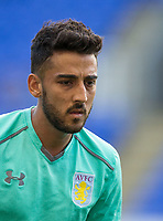 Neil Taylor of Aston Villa during pre match warm up during the Sky Bet Championship match between Reading and Aston Villa at the Madejski Stadium, Reading, England on 15 August 2017. Photo by Andy Rowland / PRiME Media Images.