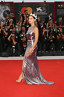 VENICE, ITALY - AUGUST 31: Carlotta Maggiorana walks the red carpet ahead of the Joker premiere during the 76th Venice Film Festival at Sala Grande on August 31, 2019 in Venice, Italy. (Photo by Marck Cape/Getty Images)<br /> Venezia 31/08/2019