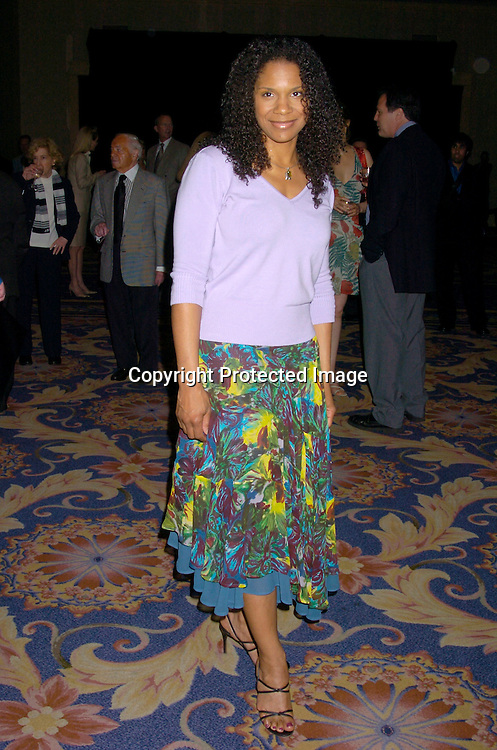 Audra McDonald ..at the 70th Annual Drama League Luncheon on May 14, 2004 at the Grand Hyatt in New York City...Photo by Robin Platzer, Twin Images