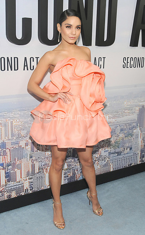 "NEW YORK, NY - DECEMBER 12: Vanessa Hudgens attends the World Premiere for ""Second Act"" at Regal union Square on December 12, 2018 in New York City.  Credit: John Palmer/MediaPunch"