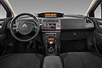 Straight dashboard view of a 2010 Citroen C4 Millenium 5 Door Hatchback 2WD